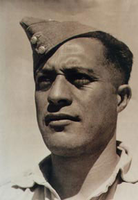 Sgt Haani Manahi. Image courtesy of Army Museum