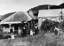 Haszard Family Home - Before the eruption